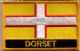 Dorset Embroidered Flag Patch, style 09.